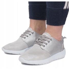 Sølv Sportssko grå 1