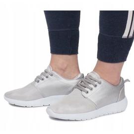 Sølv Sportssko grå 2