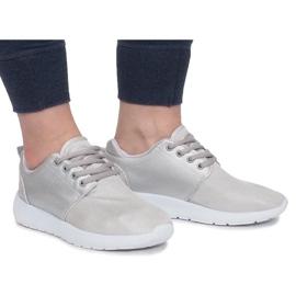 Sølv Sportssko grå 3