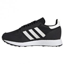 Adidas Originals Forest Grove Jr EE6557 sko sort 1