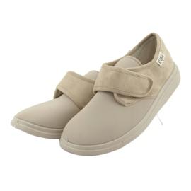 Befado kvinders sko pu 036D005 brun 3