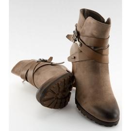 Ankelstøvler brun 8287 Khaki 2