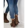 Brune kvinders sko 4169 Khaki 4