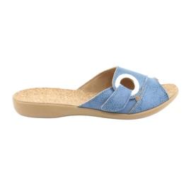 Befado kvinders sko pu 265D015 blå 1