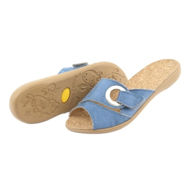 Befado kvinders sko pu 265D015 blå 5