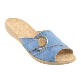 Befado kvinders sko pu 265D015 blå 2
