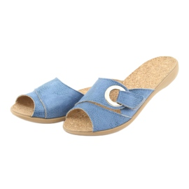 Befado kvinders sko pu 265D015 blå 4