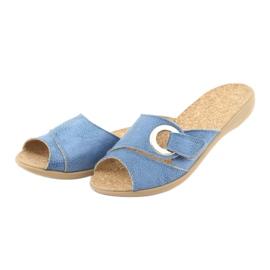 Befado kvinders sko pu 265D015 blå 3