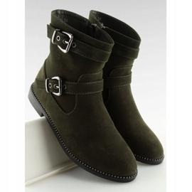Platte grønne sko MB188-266 Grøn 4