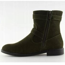 Platte grønne sko MB188-266 Grøn 5