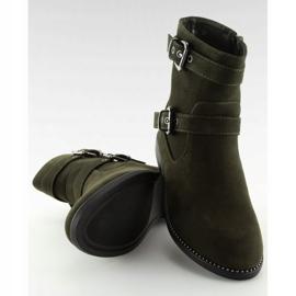 Platte grønne sko MB188-266 Grøn 6