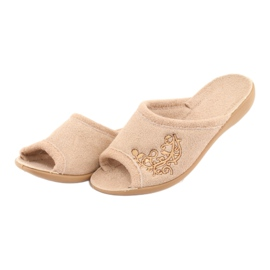 Befado kvinders sko pu 256D013 brun 3