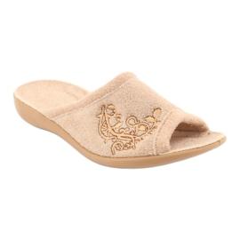 Befado kvinders sko pu 256D013 brun 2