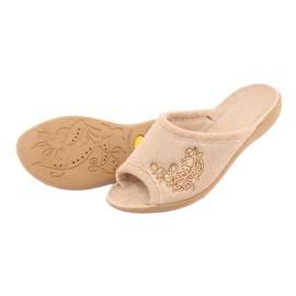 Befado kvinders sko pu 256D013 brun 4