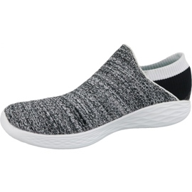 Skechers You W 14951-WBK sko grå 1