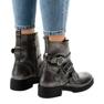 Grå kvinder støvler med HQ1588 spænder 3
