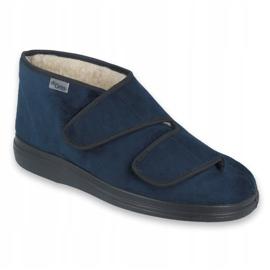 Befado kvinders sko pu 986D010 navy 1