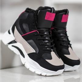 Bella Paris Sneakers med pels 4