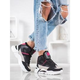 Bella Paris Sneakers med pels 5