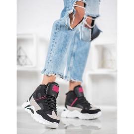 Bella Paris Sneakers med pels 1