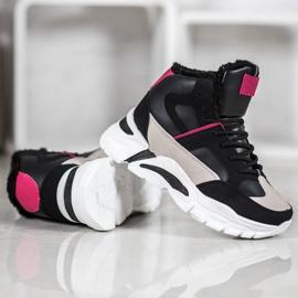 Bella Paris Sneakers med pels 3