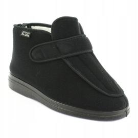 Befado kvinders sko pu orto 987D002 sort 2