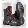 Weide Rock Støvler med en spænde sort 5