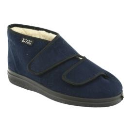 Befado kvinders sko pu 986D010 navy 3