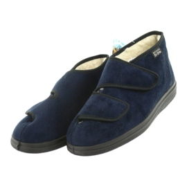 Befado kvinders sko pu 986D010 navy 4