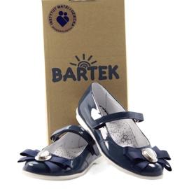 Ballerinas børnesko Bartek 45418 navy blue 4