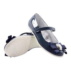 Ballerinas børnesko Bartek 45418 navy blue 3