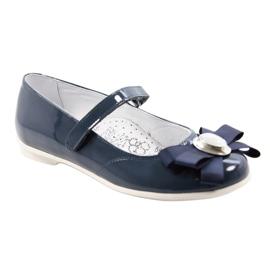 Ballerinas børnesko Bartek 45418 navy blue 1