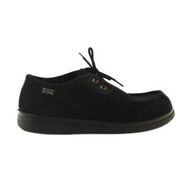 Befado kvinders sko pu 871D004 sort 2