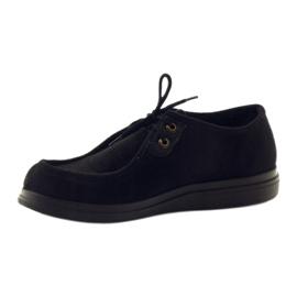 Befado kvinders sko pu 871D004 sort 4