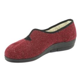 Befado kvinders sko pu 940D355 rød 3
