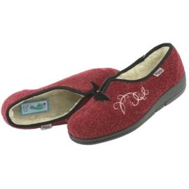 Befado kvinders sko pu 940D355 rød 6
