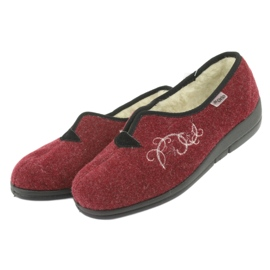 Befado kvinders sko pu 940D355 rød 4