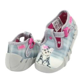 Befado kitty børnesko 110P365 grå 3