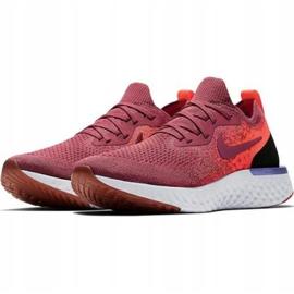 Nike Epic React Flyknit W AQ0070 601 løbesko rød 1