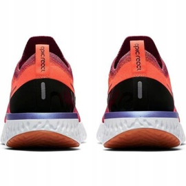 Nike Epic React Flyknit W AQ0070 601 løbesko rød 2