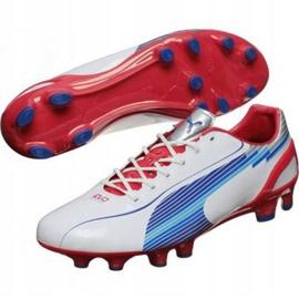 Puma Evo Speed 1 Fg M 102527 01 fodboldsko hvid hvid 1