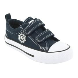 Navy American Velcro Sneakers American Club LH35 1