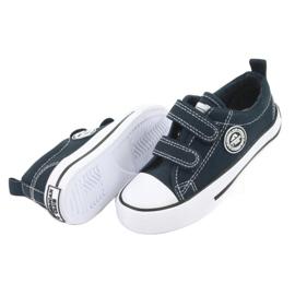 Navy American Velcro Sneakers American Club LH35 4