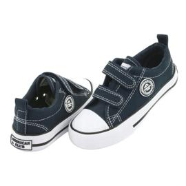 Navy American Velcro Sneakers American Club LH35 3