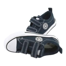 Navy American Velcro Sneakers American Club LH35 5