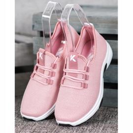 Kylie Klassiske sportssko pink 2