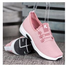 Kylie Klassiske sportssko pink 1