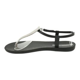 Sort Ipanema 82862 sorte sandaler 1