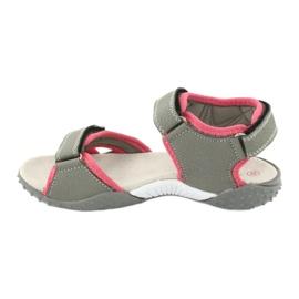 American Club RL26 / 20 grå / fersken sandaler 1