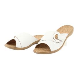 Befado kvinders sko pu 265D002 hvid 3